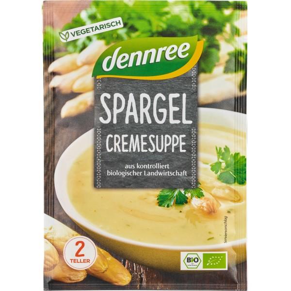 Supa crema de sparanghel, la plic bio