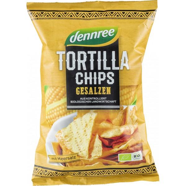 Tortilla chips cu sare bio