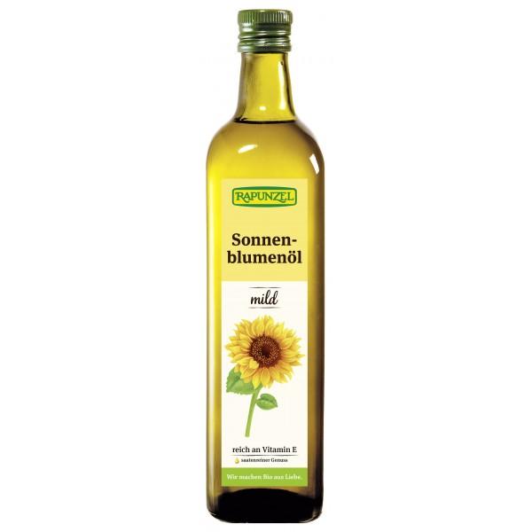 Ulei de floarea soarelui fin bio