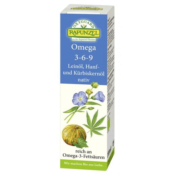 Ulei Oxyguard Omega 3-6-9  virgin  bio