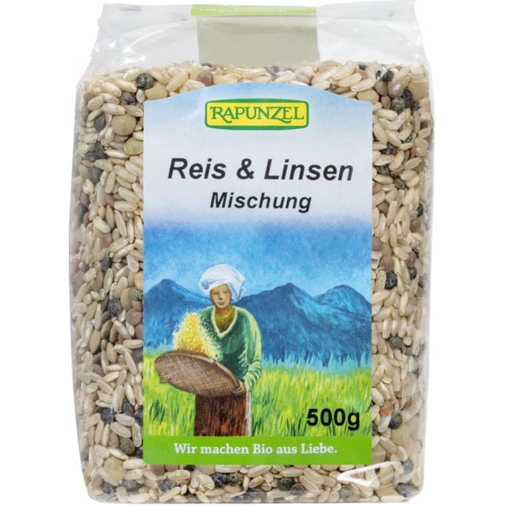 Amestec de orez si linte bio