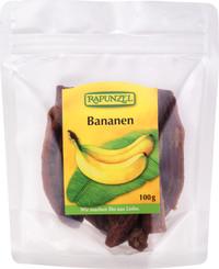 Banane bio întregi uscate