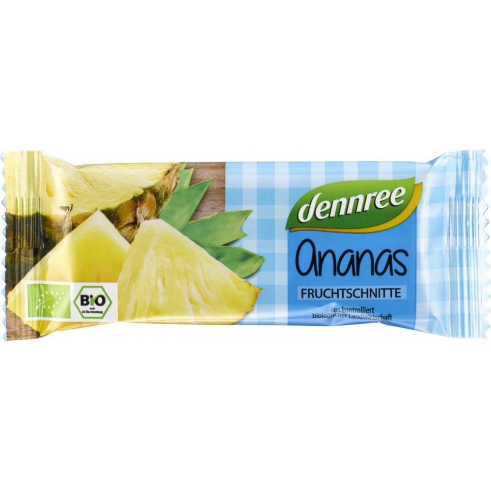 Baton de fructe cu ananas bio