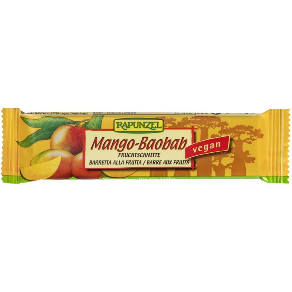 Baton de fructe cu Mango si Baobab