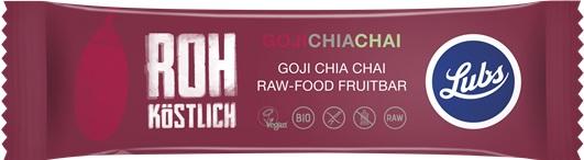 Baton RAW cu Goji, Chia si Chai