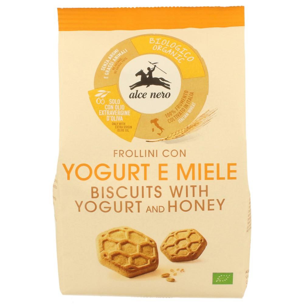 Biscuiti bio fragezi cu iaurt si miere