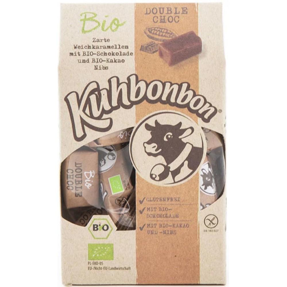 Caramele bio cu cacao si ciocolata FARA GLUTEN