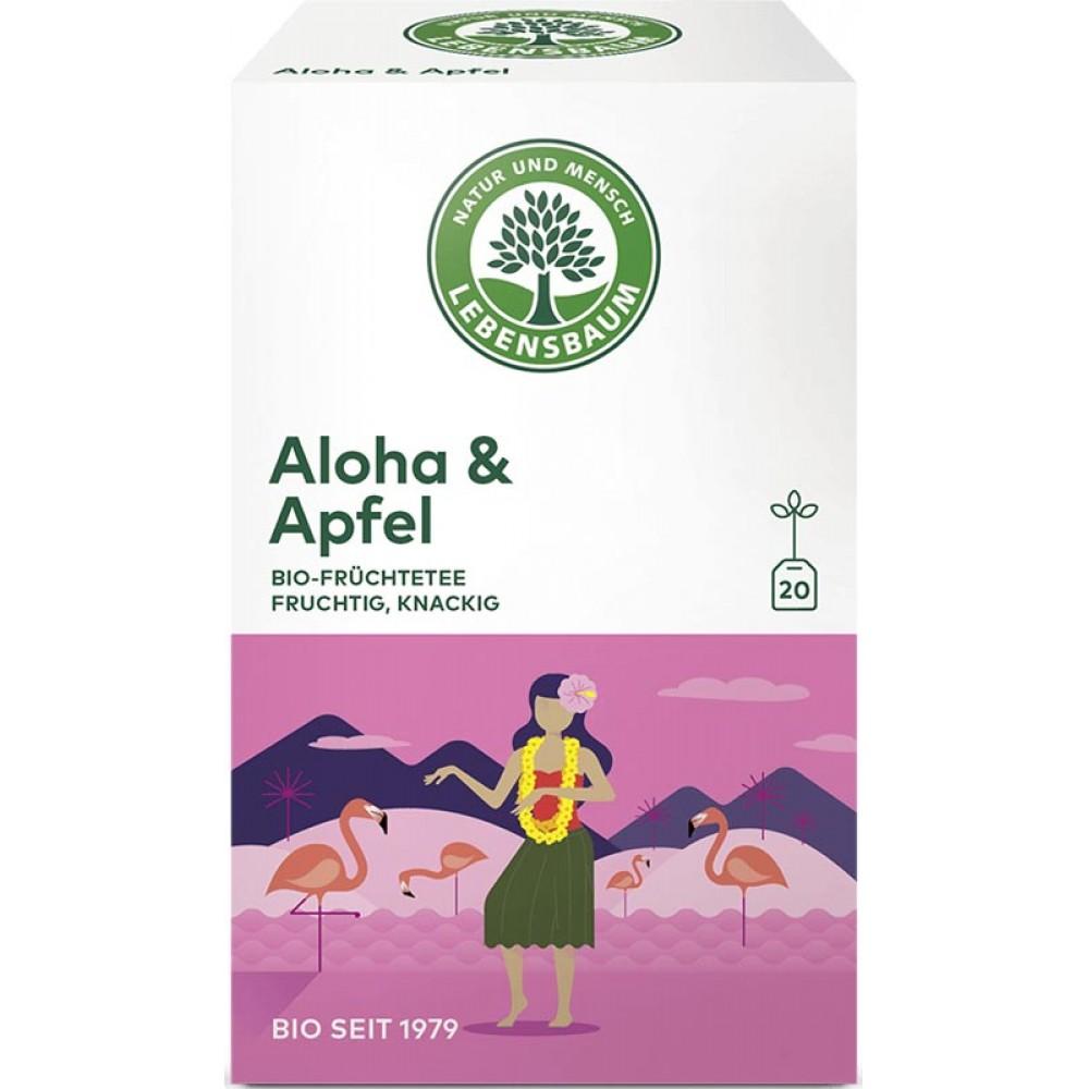 Ceai Aloha &  Mar x20 plicuri bio