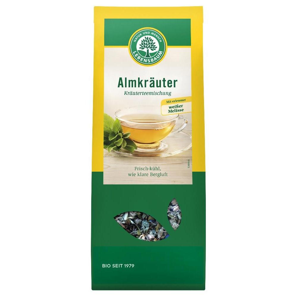Ceai din ierburi alpine ecologic