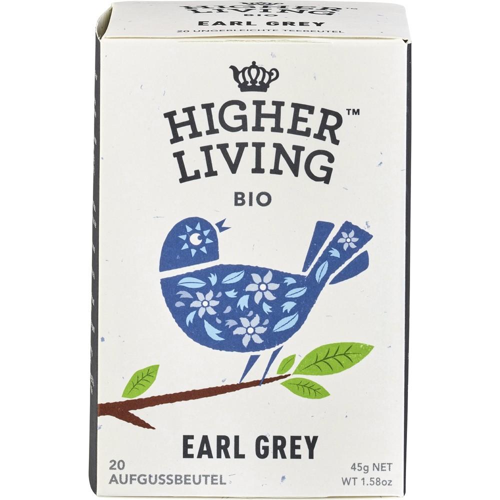 Ceai negru bio Earl Grey