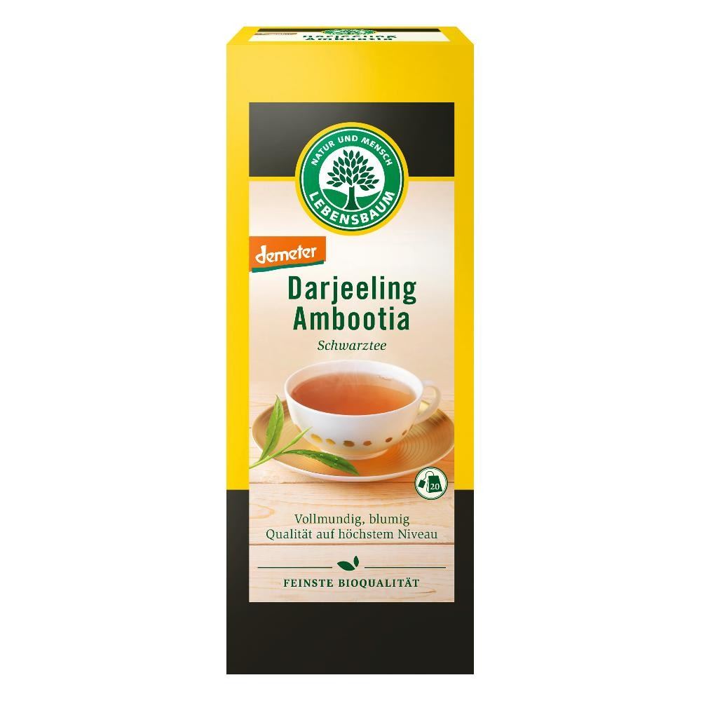 Ceai negru Darjeeling