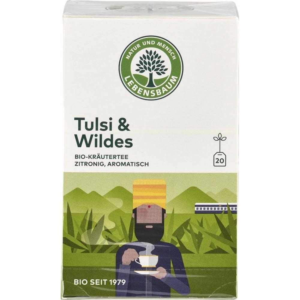 Ceai Tulsi & Salbatic x20 plicuri