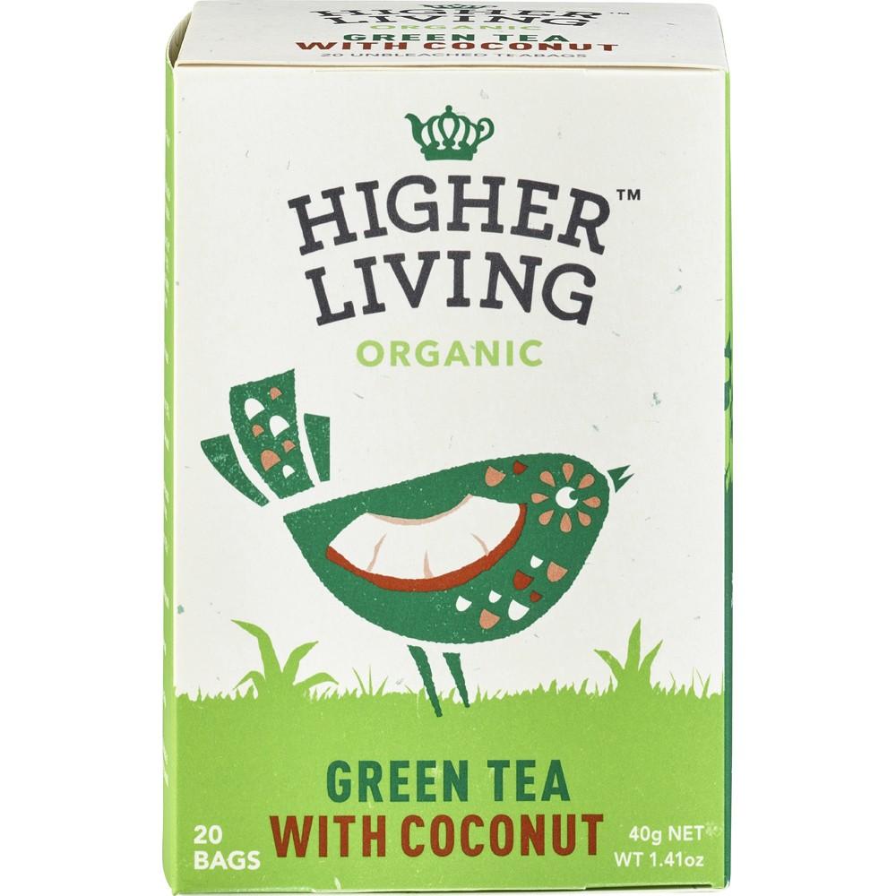 Ceai verde cu cocos