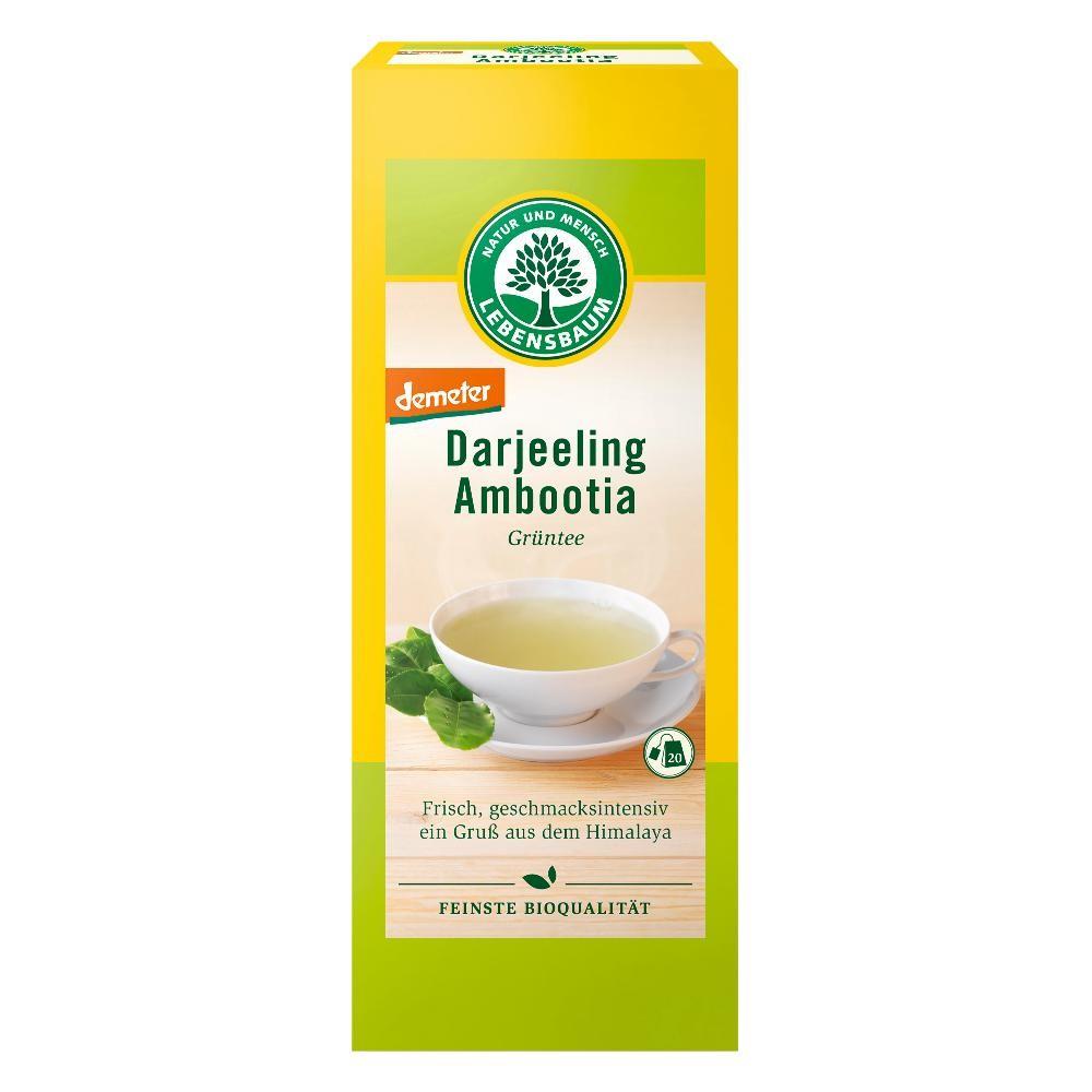 Ceai verde Darjeeling DEMETER x20 plicuri bio