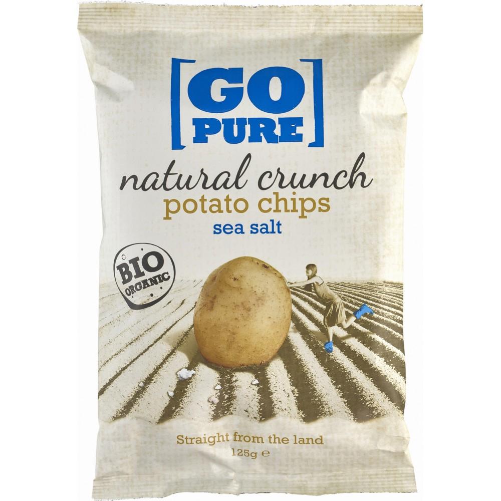 Chipsuri din cartofi cu sare coapte manual bio