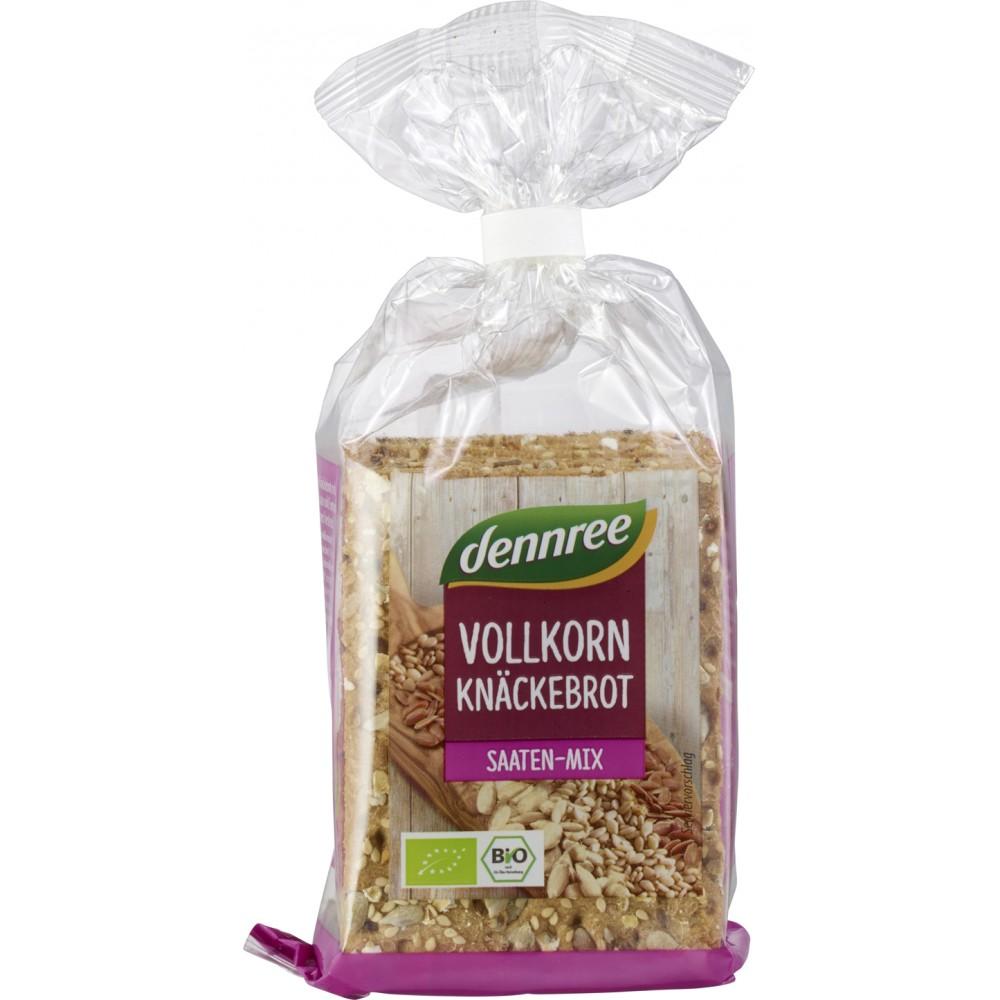 Crackers integrali cu mix de seminte