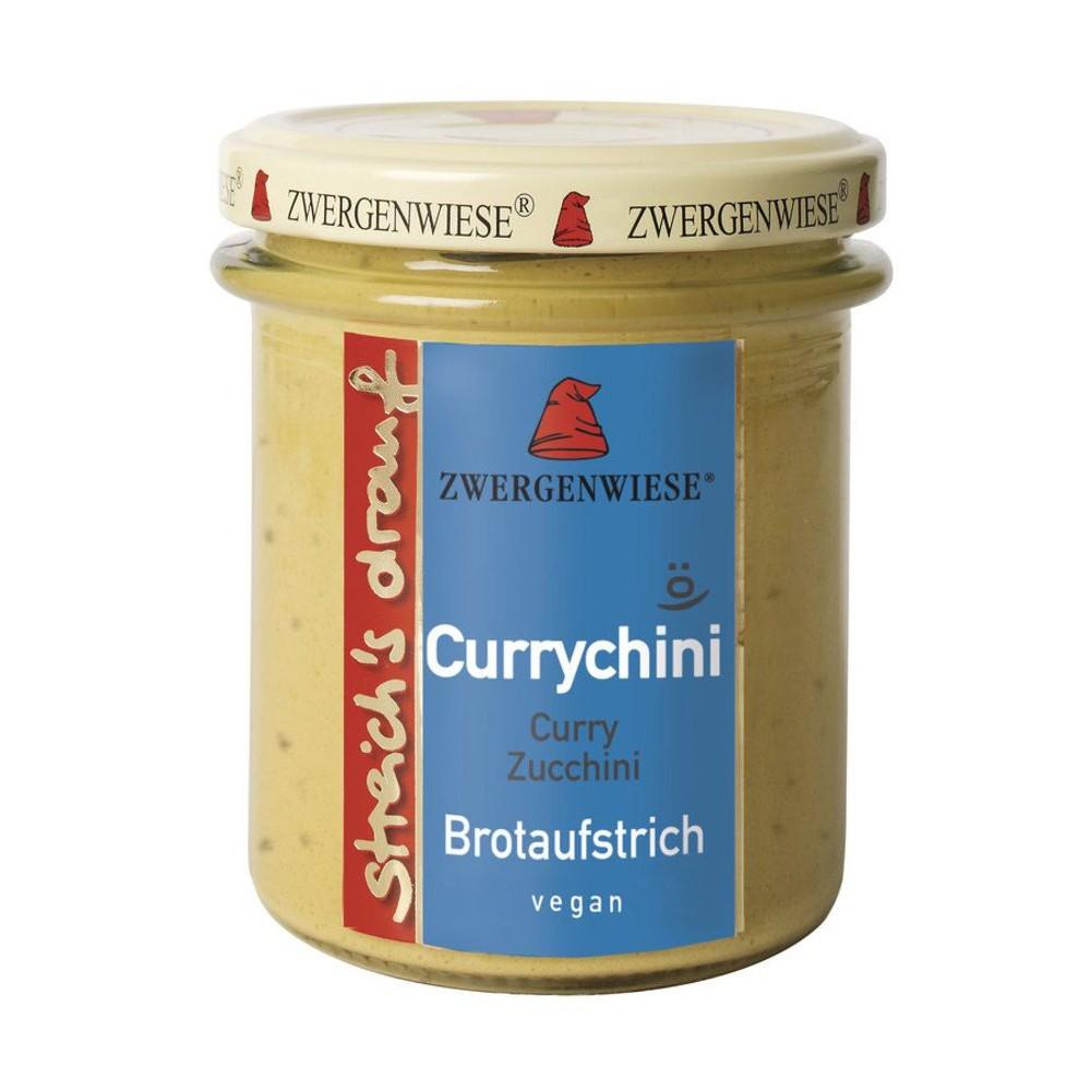 Crema bio tartinabila vegetala Currychini cu curry si zucchini