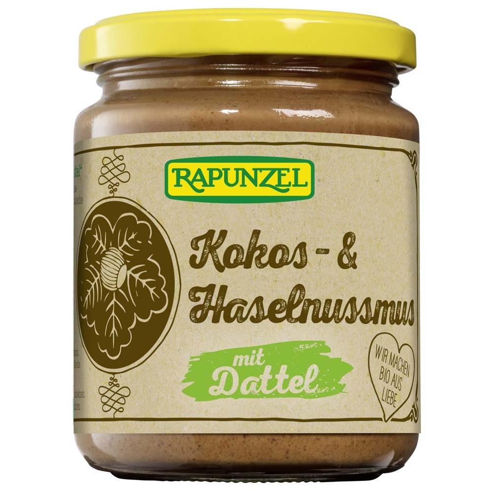 Crema de cocos, alune si curmale FARA ZAHAR