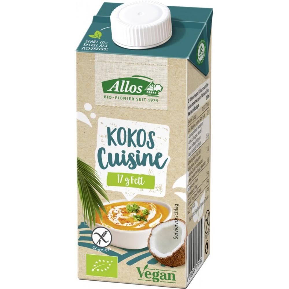 Crema de cocos bio pentru gatit