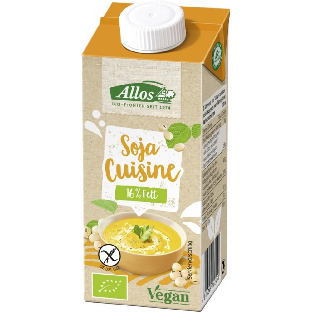 Crema de soia lichida pentru gatit FARA GLUTEN bio