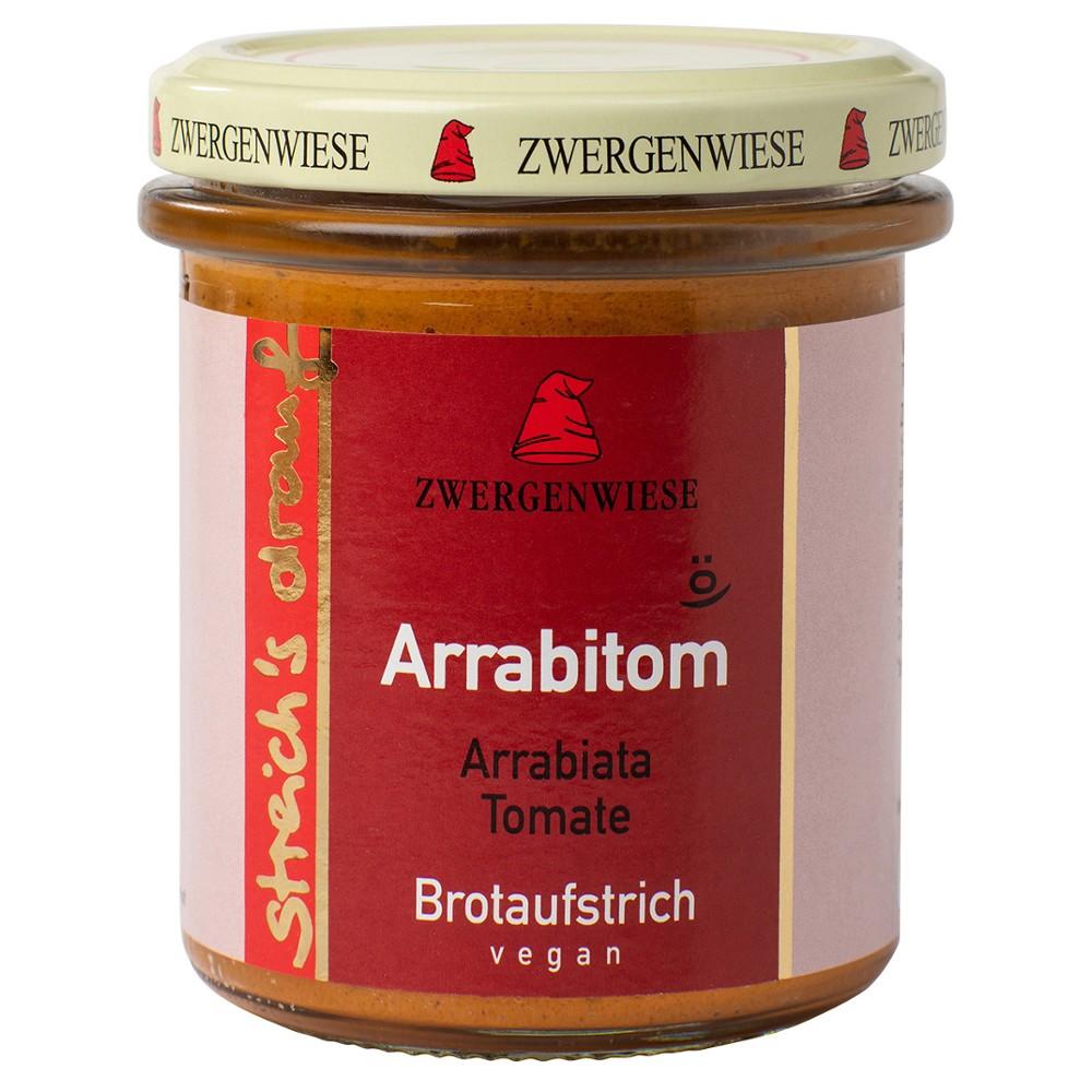 Crema tartinabila vegetala Arrabitom cu arrabiata si tomate FARA GLUTEN