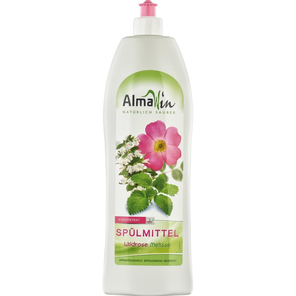 Detergent de vase cu trandafir salbatic si melisa