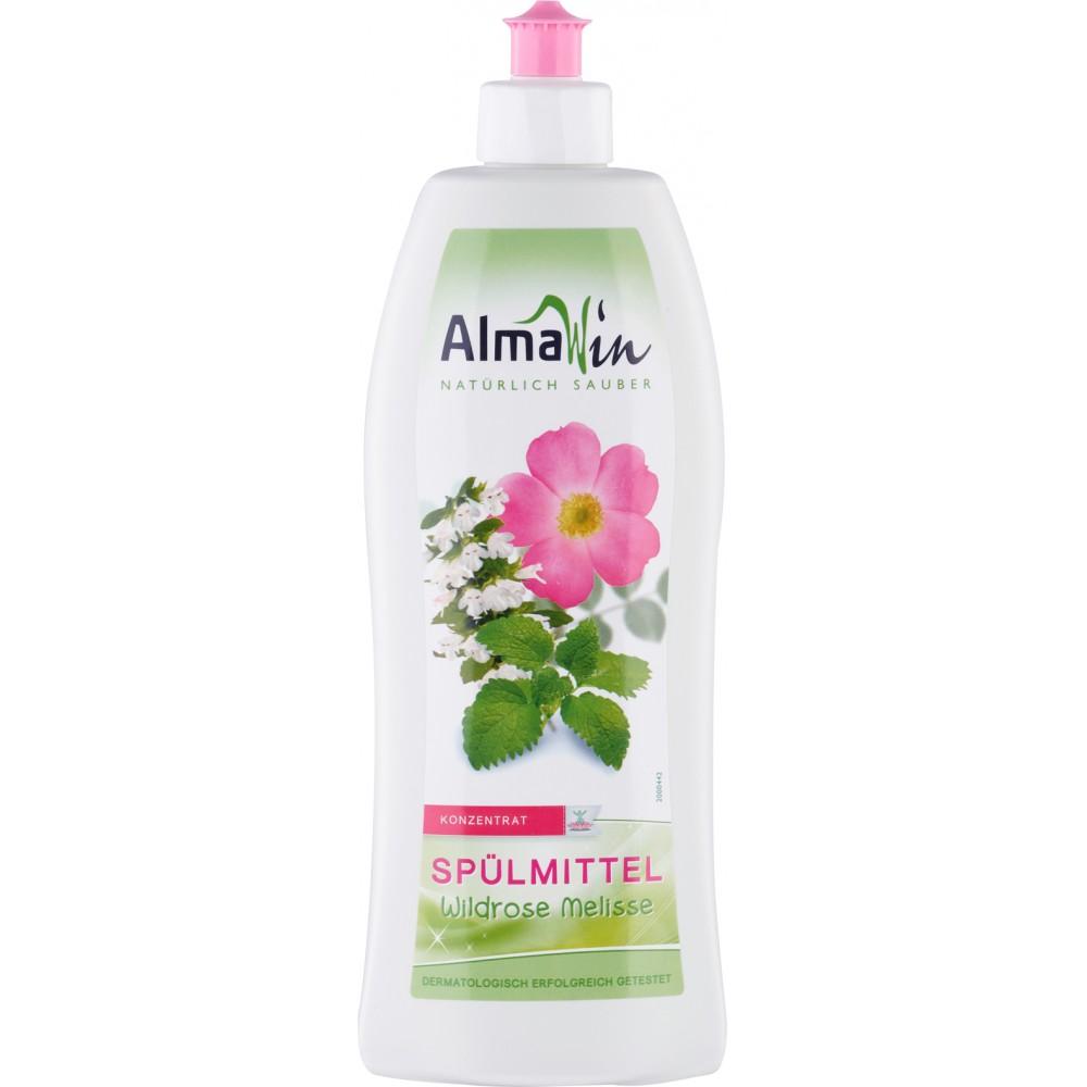 Detergent de vase organic cu trandafir salbatic si melisa
