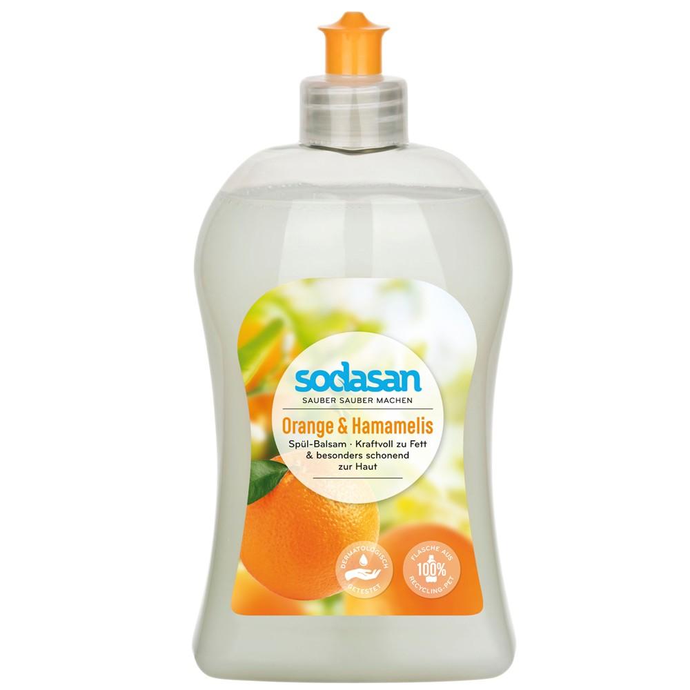 Detergent lichid de vase balsam cu portocala