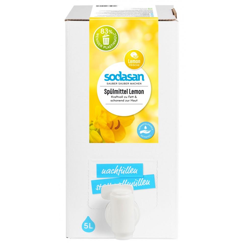 Detergent lichid de vase cu lamaie organic