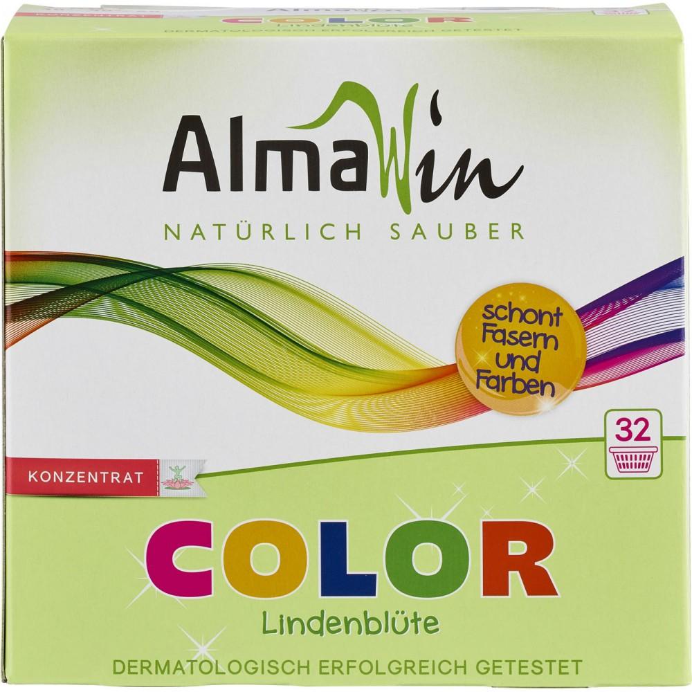 Detergent pudra pentru rufe colorate natural