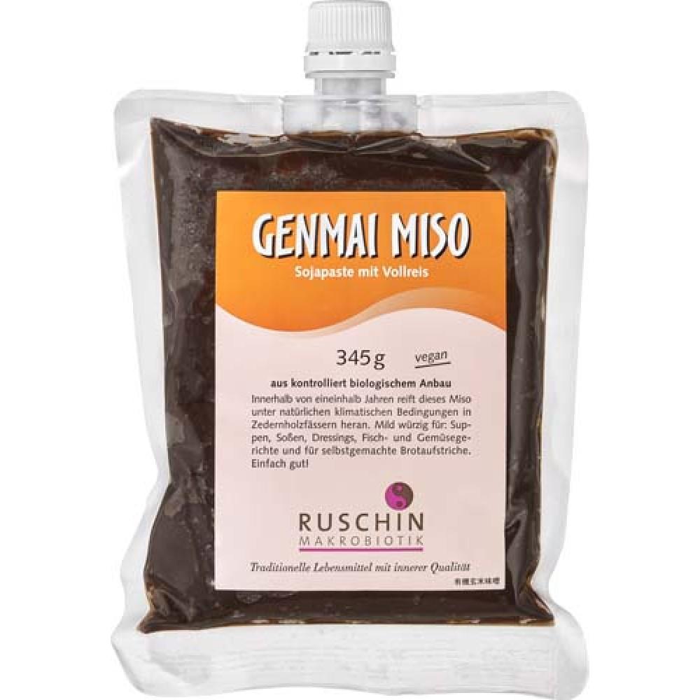 Pasta din soia si orez Genmai Miso nepasteurizata