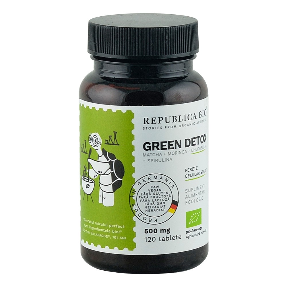 Green Detox 120 tablete