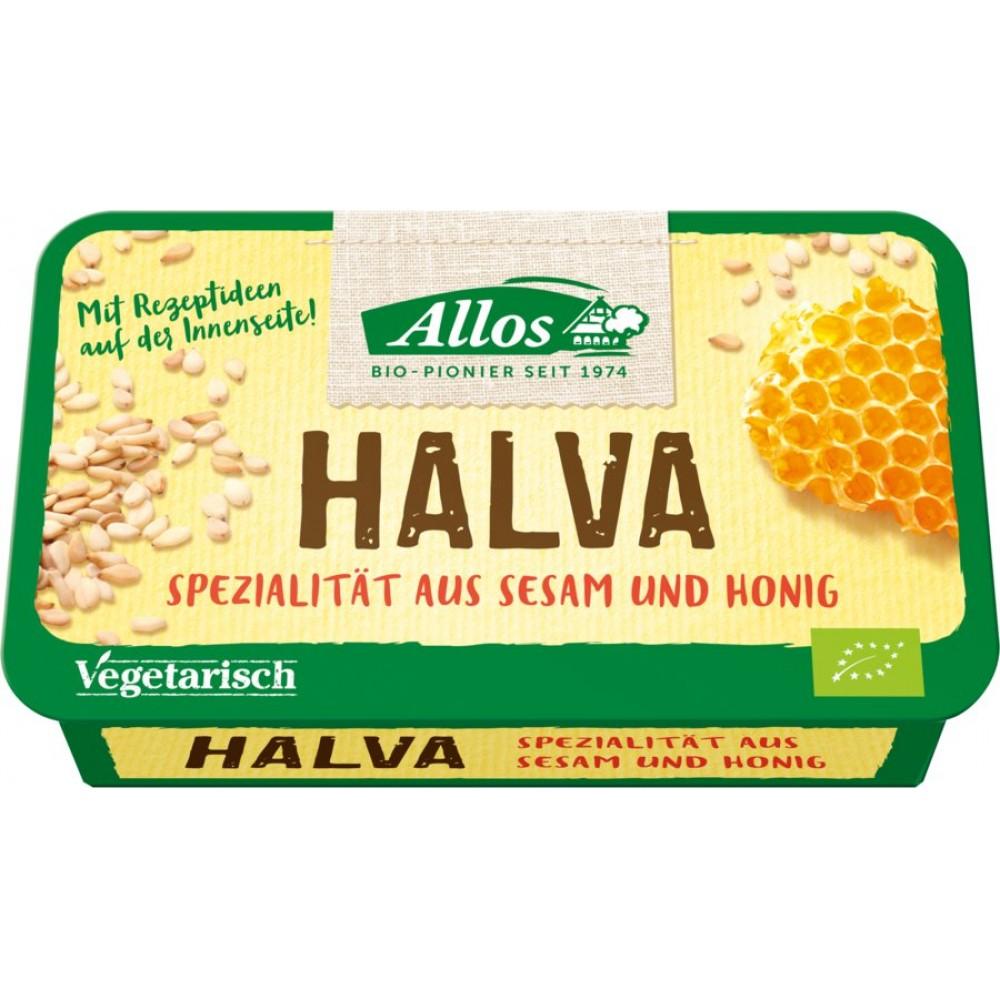 Halva bio cu miere
