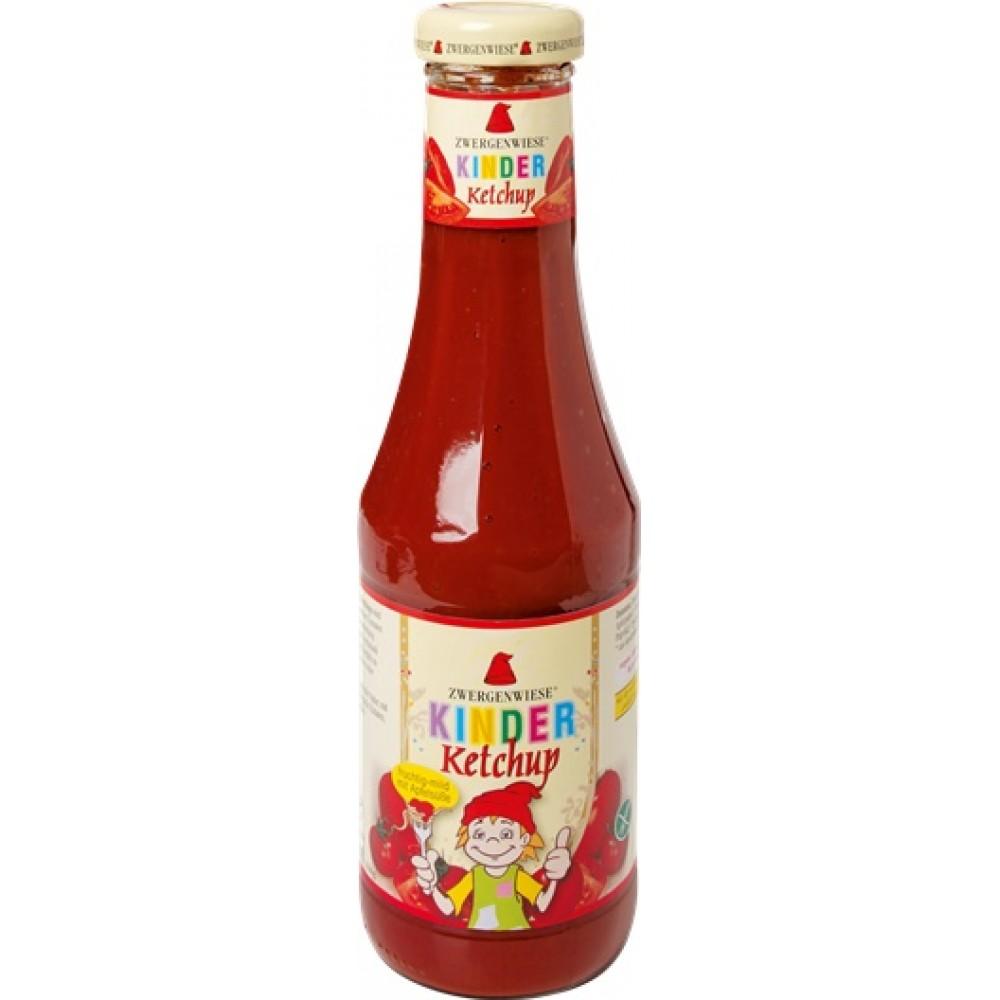 Ketchup pentru copii cu indulcitor din mere
