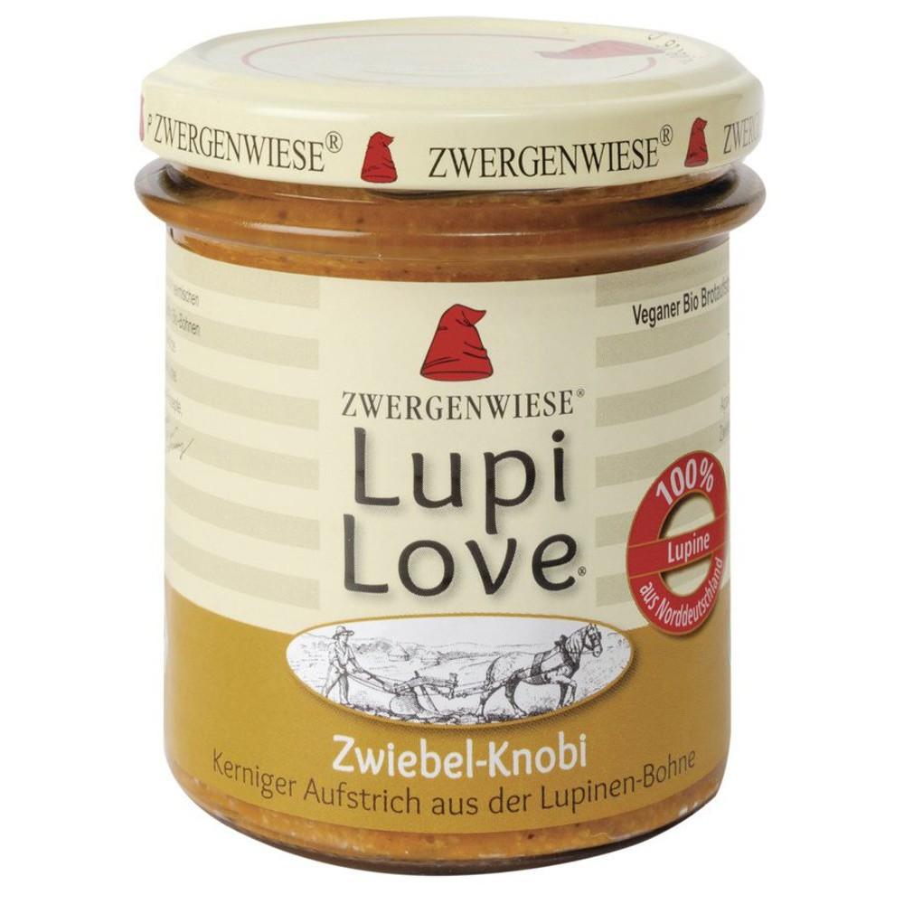 Lupi Love crema tartinabila din lupin cu ceapa si usturoi