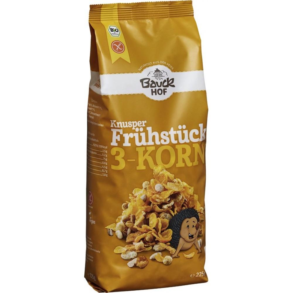 Mic dejun crocant cu 3 cereale fara gluten