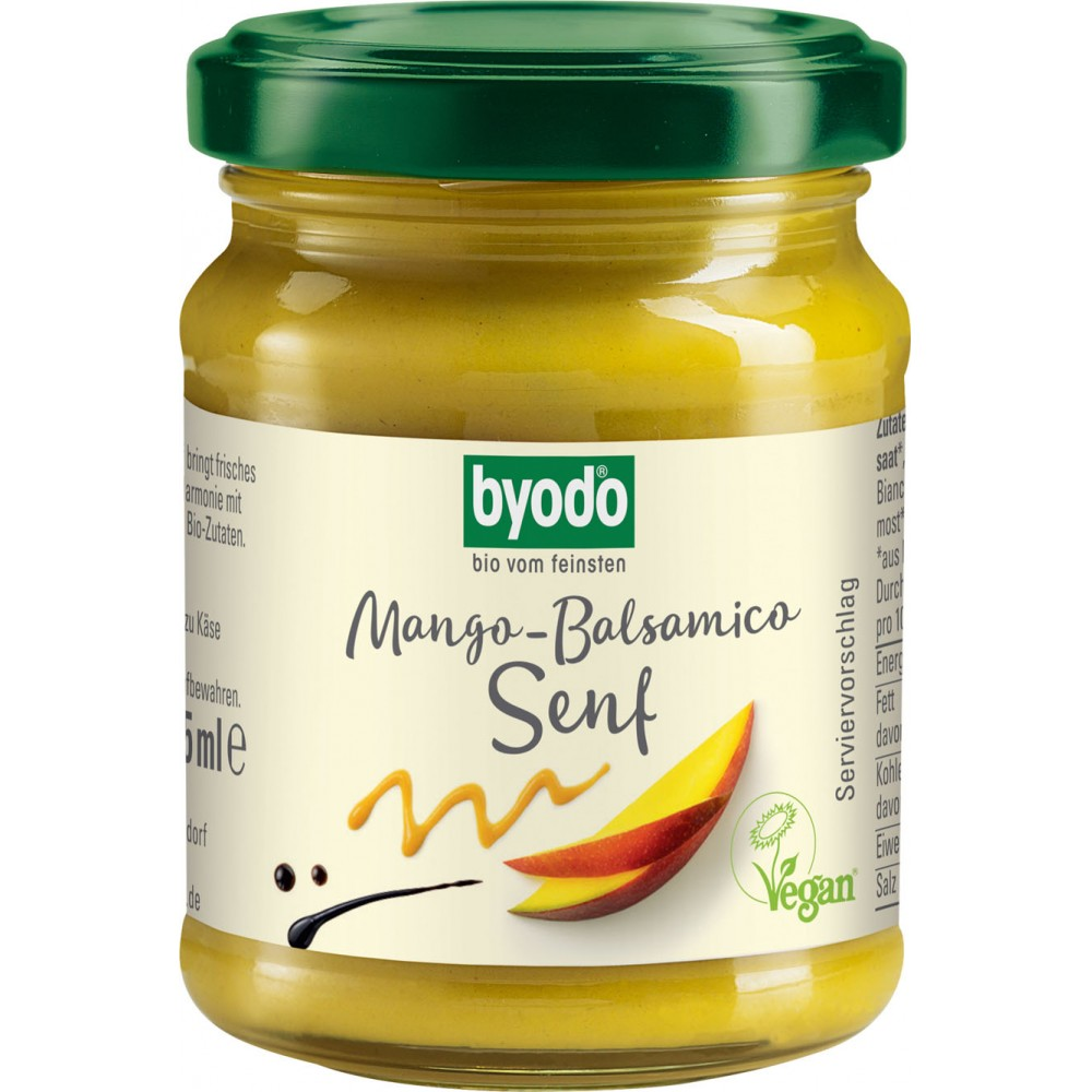 Mustar cu mango si otet balsamic FARA GLUTEN