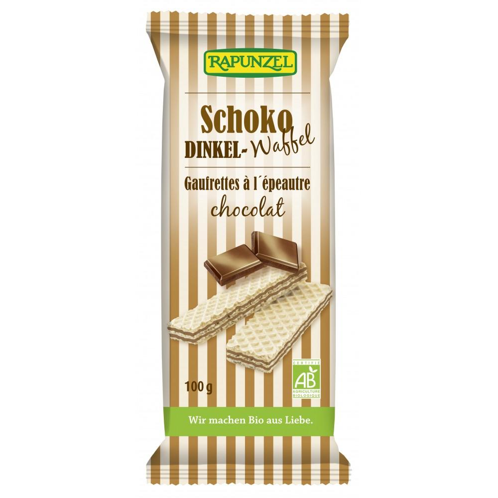Napolitane cu crema de ciocolata bio
