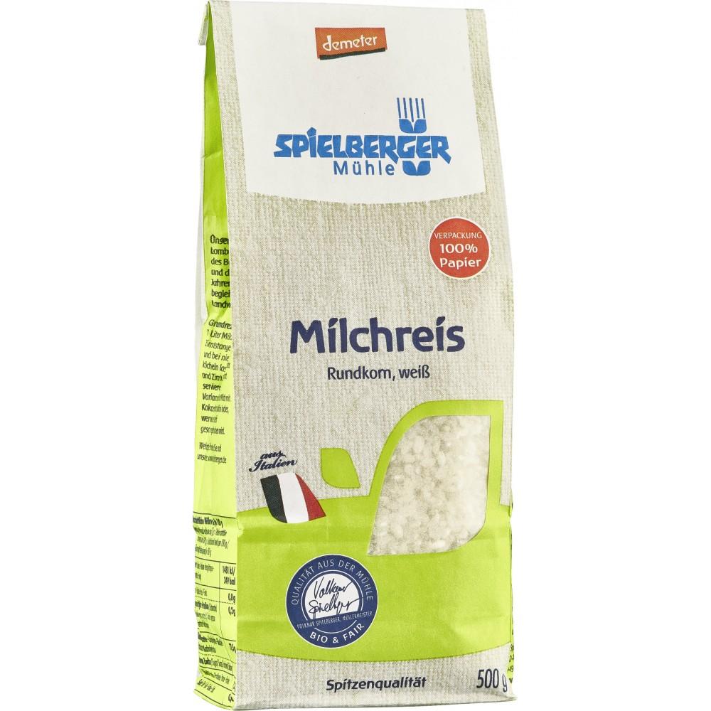 Orez alb pentru lapte Demeter bio