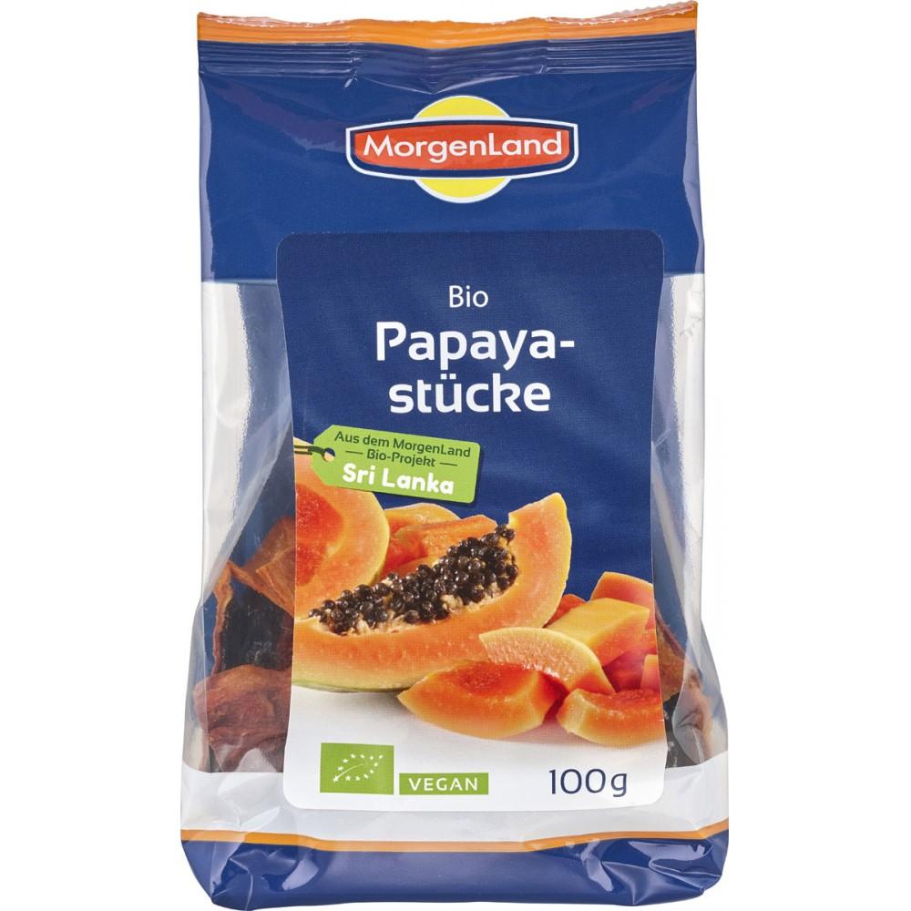 Papaya bio felii