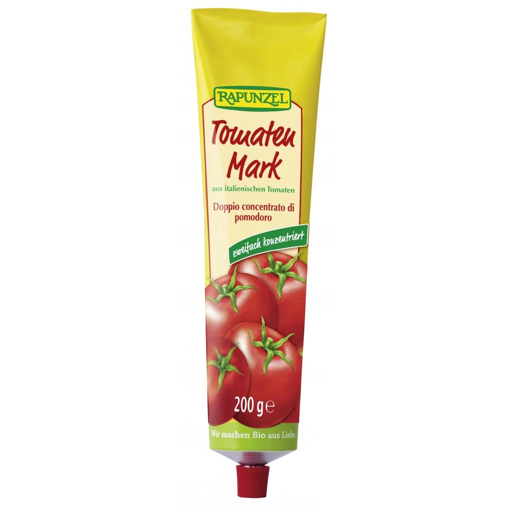 Pastă de tomate bio 22%, în tub
