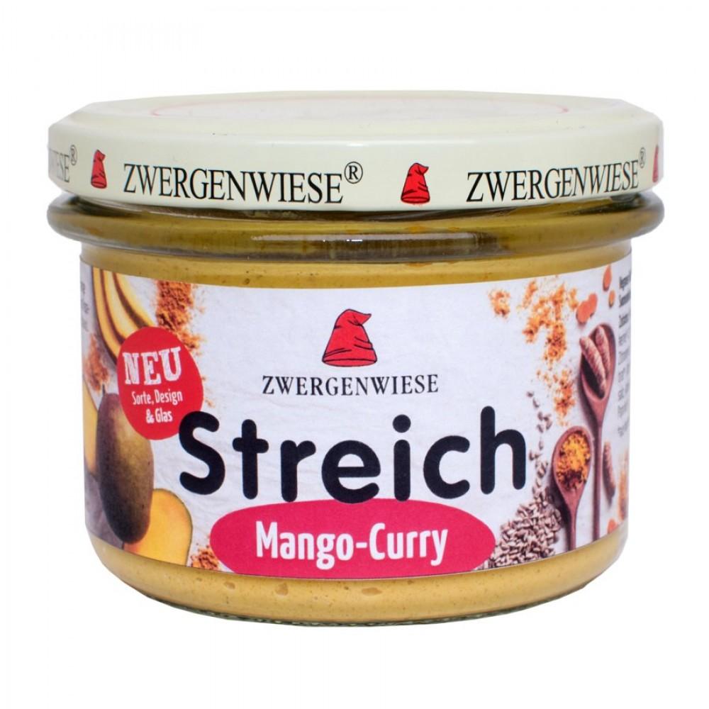 Pate vegetal cu mango si curry