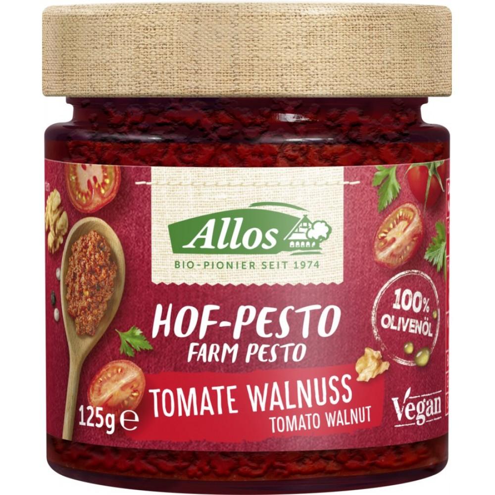 Pesto cu tomate si nuci
