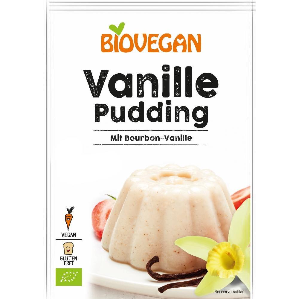 Pudra budinca vanilie bio FARA GLUTEN