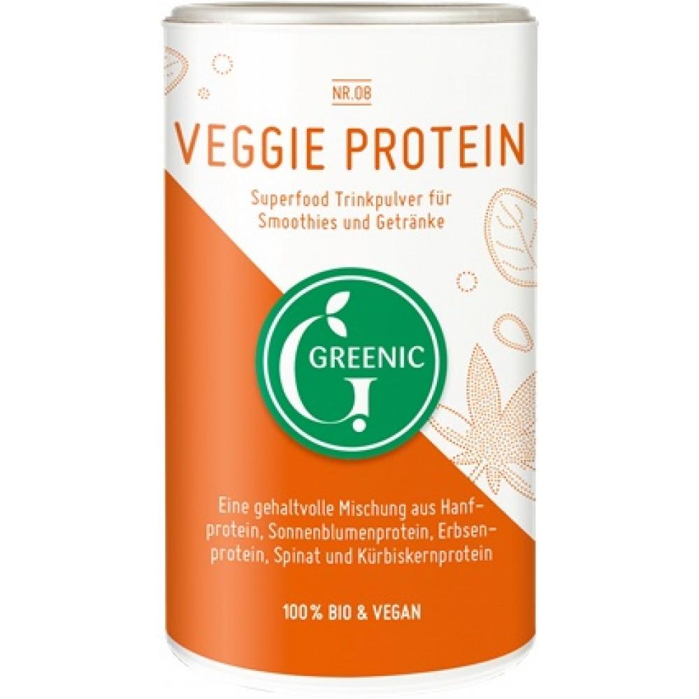 Pudra cu proteina vegetala pentru baut bio