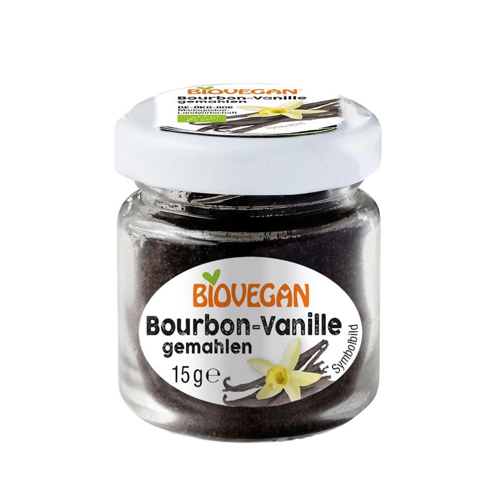 Pudra de Bourbon vanilie ecologica