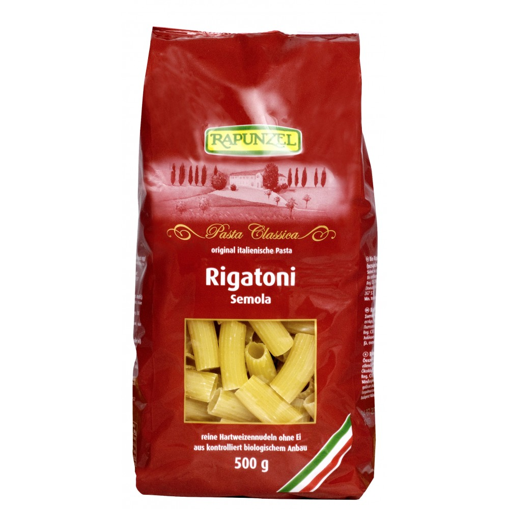 Rigatoni semola bio