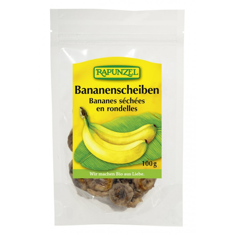 Rondele de banane bio