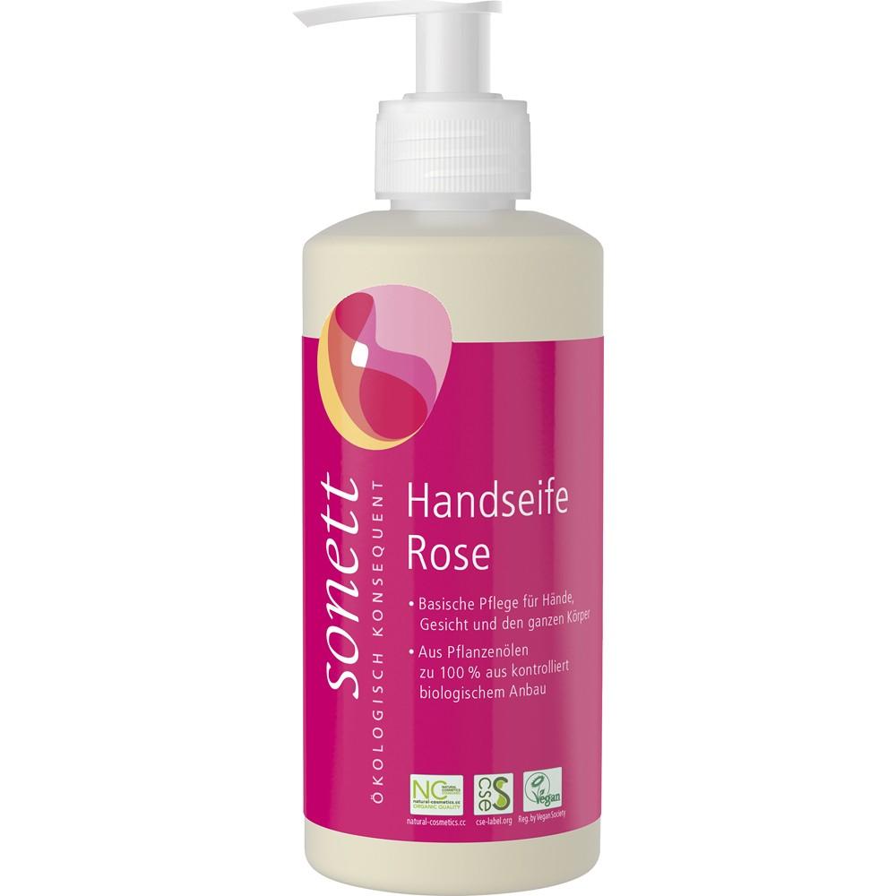 Sapun lichid cu trandafir bio pentru maini si corp