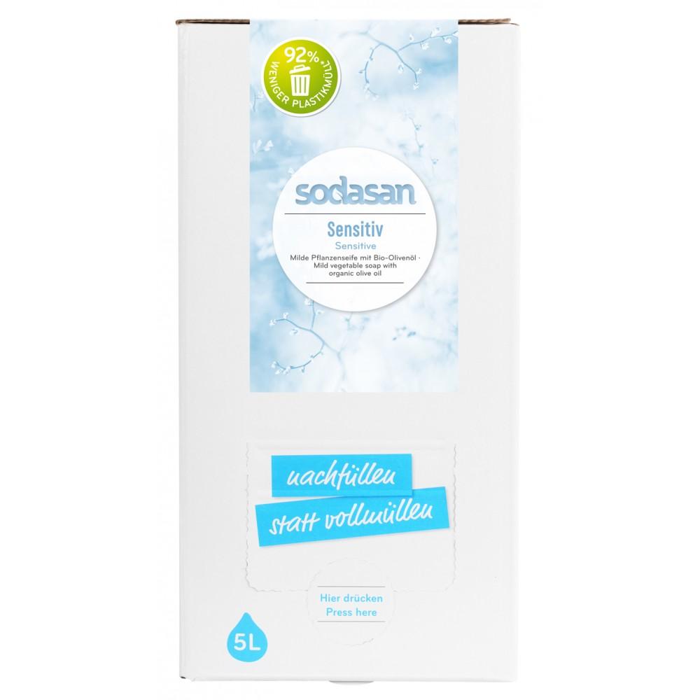 Sapun lichid pentru ingrijire naturala